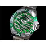 GALLUCCI(ガルーチ) 腕時計 ゼブラ 自動巻き WT23178SK-GR