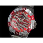 GALLUCCI(ガルーチ) 腕時計 ゼブラ 自動巻き WT23178SK-RD