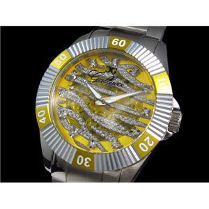 GALLUCCI(ガルーチ) 腕時計 ゼブラ 自動巻き WT23178SK-YL - 拡大画像