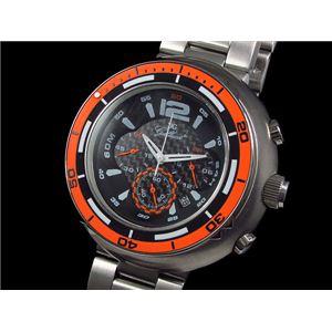 GALLUCCI(ガルーチ) 腕時計 ビッグケース クロノ WT22674CH-OR - 拡大画像