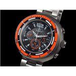 GALLUCCI(ガルーチ) 腕時計 ビッグケース クロノ WT22674CH-OR