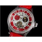 GALLUCCI(ガルーチ) 腕時計 マルチファンクション WT23408AU-RD