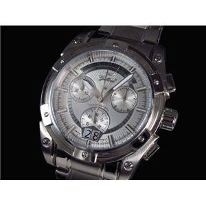 GALLUCCI(ガルーチ) 腕時計 レトログラードクロノ WT23317CH-SSWH - 拡大画像