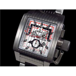 GALLUCCI(ガルーチ) 腕時計 レトログラードクロノ WT23372CH-SSBK - 拡大画像