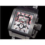 GALLUCCI(ガルーチ) 腕時計 レトログラードクロノ WT23372CH-SSBK