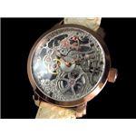 GALLUCCI(ガルーチ) 腕時計 手巻き スケルトン WT22200SK-RGIV