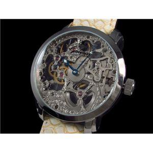 GALLUCCI(ガルーチ) 腕時計 手巻き スケルトン WT22200SK-SSIV - 拡大画像
