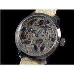 GALLUCCI(ガルーチ) 腕時計 手巻き スケルトン WT22200SK-SSIV