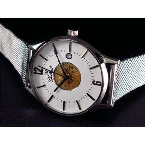 GALLUCCI(ガルーチ) 腕時計 チェンジベルト WT23449QZL-SSWH - 拡大画像