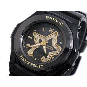 CASIO(カシオ) Baby-G 腕時計 レディース BGA103B-1B - 拡大画像