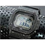 カスタム Gショック デコG 腕時計 石付きベゼル GLX5600-1BB