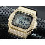 カスタム Gショック デコG 腕時計 石付きベゼル GLX5600-1GW