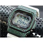 カスタム Gショック デコG 腕時計 石付きベゼル GLX5600-7BGR