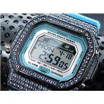 カスタム Gショック デコG 腕時計 石付きベゼル GLX5600A-2BBU