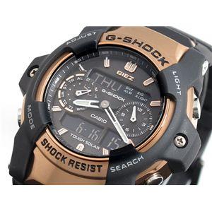 CASIO(カシオ) Gショック アナデジ ソーラー GIEZ 腕時計 GS1050B-5A - 拡大画像