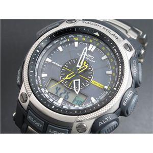 CASIO(カシオ) CASIO プロトレック PROTREK 腕時計 チタン PRG500T-7 - 拡大画像