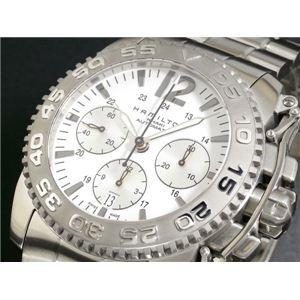HAMILTON(ハミルトン) 腕時計 カーキ アクション オートクロノ H63556115 - 拡大画像