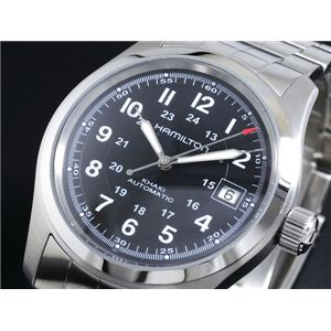 HAMILTON(ハミルトン) 腕時計 カーキフィールド オート H70455133 - 拡大画像