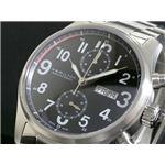 HAMILTON(ハミルトン) カーキ オフィサー オート クロノ 腕時計 H71716133