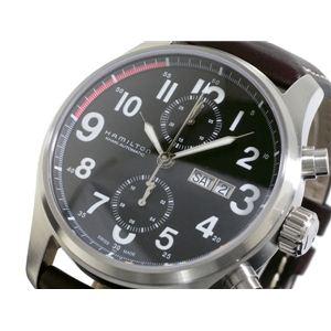 HAMILTON(ハミルトン) カーキ オフィサー オート クロノ 腕時計 H71716533 - 拡大画像