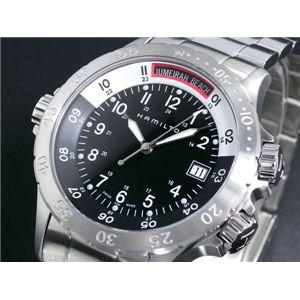 HAMILTON(ハミルトン) カーキ ネイビー サブ 腕時計 H74511133 - 拡大画像