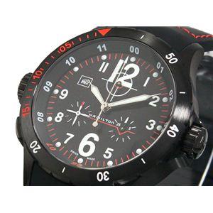 HAMILTON(ハミルトン) カーキ エアー クロノ 腕時計 H74592333 - 拡大画像