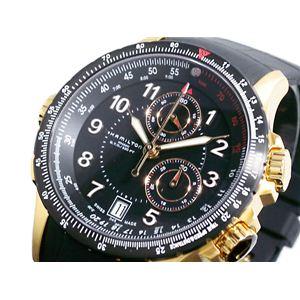 HAMILTON(ハミルトン) カーキ ETO クロノグラフ 腕時計 H77642333 - 拡大画像