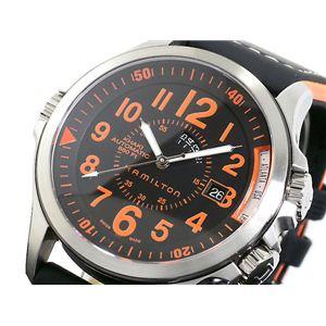 HAMILTON(ハミルトン) カーキ GMT エアレース 腕時計 H77695733 - 拡大画像