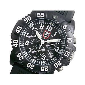 LUMINOX(ルミノックス) ネイビーシールズ クロノグラフ 腕時計 3081 - 拡大画像