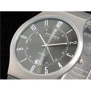 SKAGEN(スカーゲン) 腕時計 ウルトラスリム チタン 233XLTTM - 拡大画像