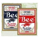 【トランプ】Bee(ビー)ポーカーサイズ 【ブルー】