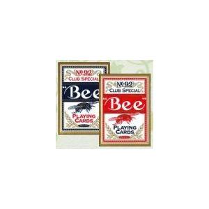【トランプ】Bee(ビー)ポーカーサイズ【レッド】