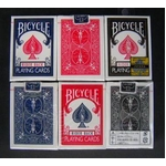 【トランプ】BICYCLE(バイスクル) ライダーバック ポーカーサイズ 【ブラック】単品