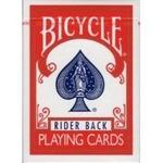 【トランプ】BICYCLE(バイスクル) ライダーバック ポーカーサイズ 【レッド】【2個セット】