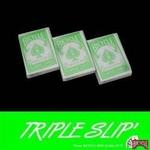 【トランプ】BICYCLE(バイスクル) IRREGULAR (イレギュラー) TRIPLE SLIP