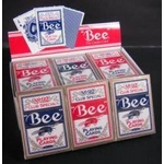 Bee (ビー) [ポーカーサイズ] 【レッド6 / ブルー6】 1ダース