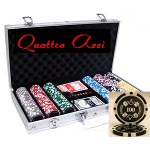 Quattro Assi(クアトロ・アッシー)ポーカーチップセット300