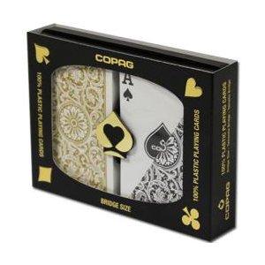 COPAGコパッグ1546ゴールド・ブラック(ブリッジサイズ)