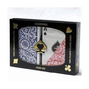 COPAGコパッグ1546レッド&ブルー(ポーカーサイズ)【トランプ】