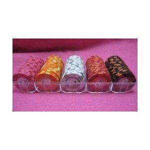 フォースポット チップセット100枚 [25C、50C、1、 5 100、] - カジノチップ・ポーカーチップ