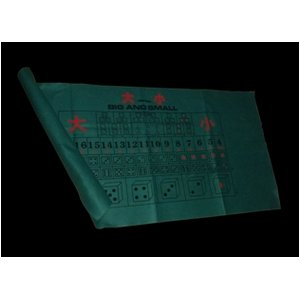 大小「BigSmall」・ゲームレイアウト「羅紗」(らしゃ・ラシャ)1820 x 910mm