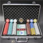 フォースポット・ポーカーセット300 -シルバー(チップセット)