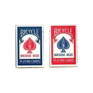 BICYCLE (バイスクル) ライダーバック (ブリッジ) 【レッド / ブルー】1ダース