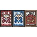 BICYCLE バイスクルドラゴンバック 【3色セット】レッド・ブルー・ゴールド