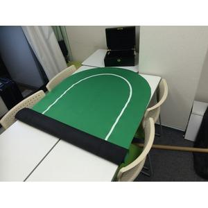 ポーカー・オーバルマット/楕円形 -カラー;ブ...の紹介画像3