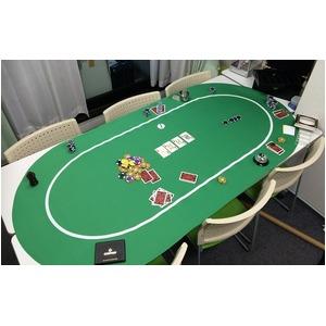 ポーカー・オーバルマット/楕円形 -カラー;ブ...の紹介画像5