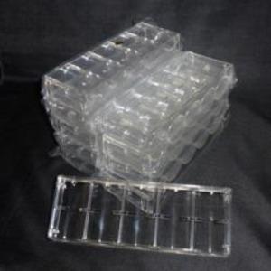 チップラック<100枚収納・アクリル製>10個セットの商品画像