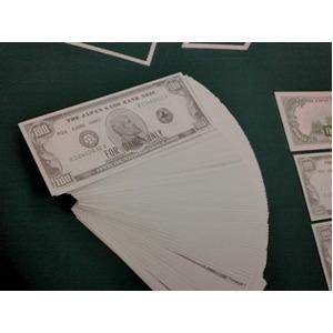 ゲーム用ドル札(仮想紙幣)100$