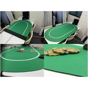 ポーカー・オーバルマット -カラー;レッド-の紹介画像5