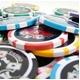 Quattro Assi(クアトロ・アッシー)ポーカーチップ(10)青 <25枚セット> - 縮小画像4